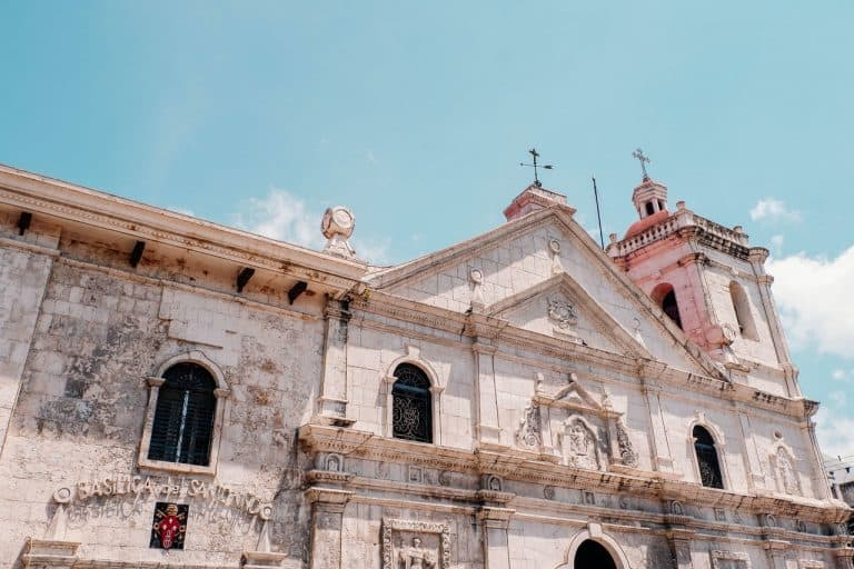 The church and historical city center of Cebu City.