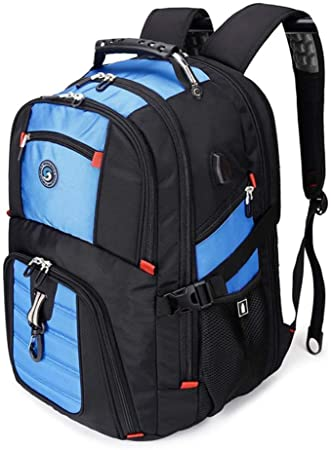 Shrradoo Travel Backpack with USB Charging Image