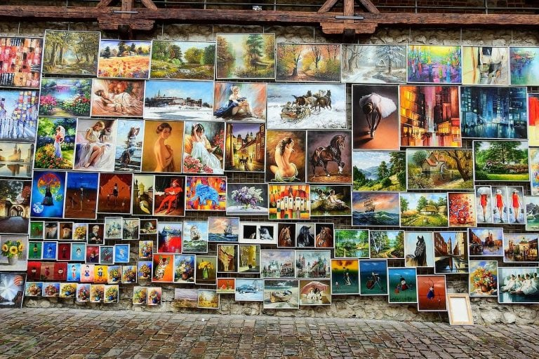 Local Art In Krakow