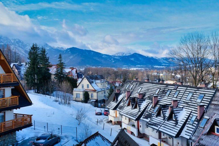 Landscape In Zakopane