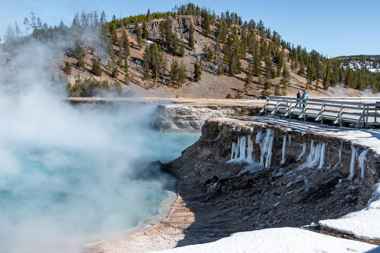 Visit Midway Geyser Basin Roads And Destinations