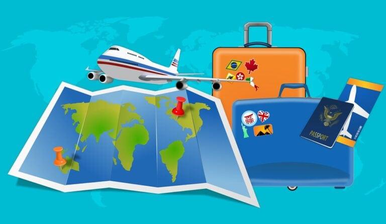visa map travel